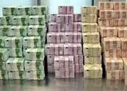 Oferta do empréstimo de dinheiro às pessoas sérias