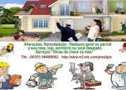 Remodelação  geral ou parcial apartamentos, .... desde 50€/m2