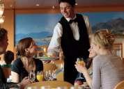 Hotelaria e restauração trabalhadores urgentemente necessária na suíça.