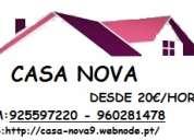 Casa rápido mudanças 919205255 lisboa