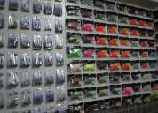 Vendo vinis lunker city originais e cabeçotes para a pesca desportiva