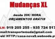 Transportes e mudanças xl 935724517 setúbal aroeira