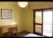Excelente -quarto mobilado em apartamento t3-centro-covilhã