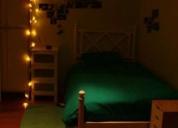 Excelente quarto a rapariga estudante