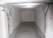 Excelente garagem, usada