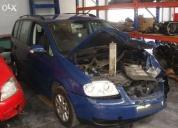 Excelente volkswagen touran 1.9 tdi-a desmantelar para peças
