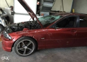 Vendo bmw 320d e46 acidentado. aproveite!