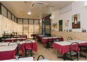 Oportunidade! restaurante na parede cedência de quotas