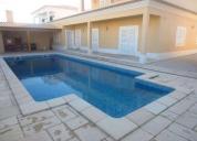 Moradia de luxo com piscina vendo ou permuto