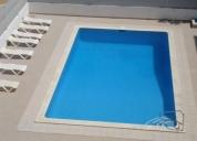 Excelente t2 férias-c/ piscina a 100m da praia vista mar.