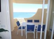 Excelente t2 férias-vista mar c/ ar condicionado-quarteira