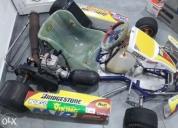 Excelente kart crg 125cc