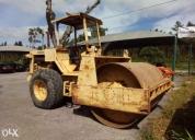 Excelente cilindro rolo e pneus compactador bitelli ghibli c100