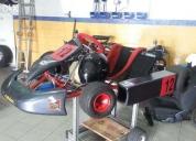 Excelente kart 125 caixa pcr