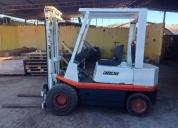 Oportunidade! empilhador fiat 2,5 toneladas