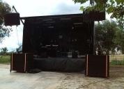 Excelente palco móvel