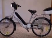 Excelente bicicleta elétrica trendline bom estado