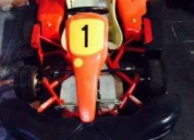 Excelente kart d&m 270cc 8,9hp motor ohv 4 tempos