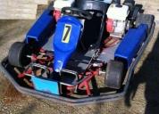 Excelente kart 2 motores honda gx200 6.5hp