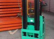 Excelente stacker eletrico mitsubishi 1200 kgs
