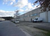 Oportunidade! armazém 800 m2-várzea barcelos-arrenda-se