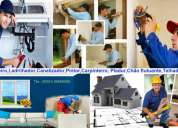 1º oficial de pedreiro, ladrilhador, . . polivalente: pintura, canalização, pladur, carpintaria,