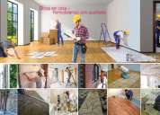 Remodelações: estuque, pladur, pintura, carpintaria,electricidade