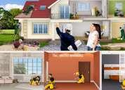 Serviço de: pedreiro, ladrilhador, canalizador, pintor, carpinteiro, pladur, chão flutuante, telha