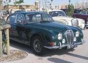 Excelente classic car: jaguar mk2 3.8 s-type