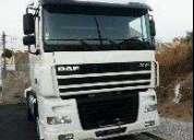 Venda de empresa de transportes e tractor daf. aproveite!.