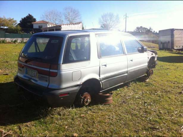 Oportunidade! mitsubishi space wagon