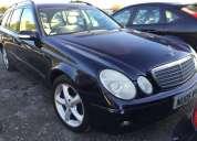 Mercedes e220. contactarse.