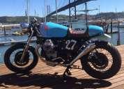 cafe racer moto guzzi 750, contactarse.