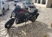 Excelente ducati diavel carbon red