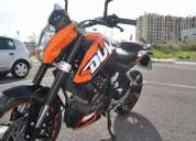 Vendo ktm duke 200 abs
