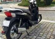 Scooter sachs 125 com 500 km cor preto
