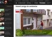 Hostel/casa eco-house para passagem.