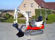 mini-escavadora takeuchi tb108