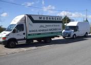 Mudanças em lisboa 20 euros hora carro+2 homens.entregas de ikea
