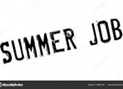 Trabalho de verão - full-time