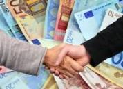 Oferta de empréstimo entre particulares em 48h