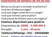 Financiamento em portugal