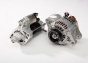 Motores de arranque e alternadores para tractores e máquinas