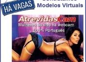 Recruta - se modelos virtuais - portugal