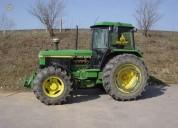 tractor agrícola john deere - 3650