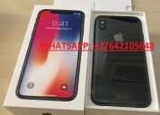 Apple iphone x 64gb  e iphone x 256gb