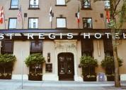 Viajar e trabalhar no hotel st regis canadá