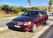 Mercedes-benz c 220 avantgard  vermelho  4000€