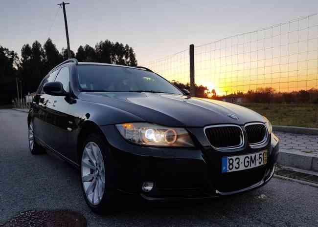 BMW 320 D Xdrive (E91)   12500€
