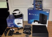 Novo sony ps4 pro 1tb console com 8 jogos €150 eur